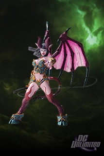 Figurka Succubus Demon Amberlash - World of Warcraft Serie 4