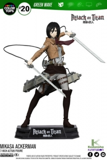 Figurka Mikasa Ackerman - Attack on Titan Color Tops Action Figure