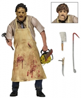 Figurka Ultimate Leatherface - Texas Chainsaw Massacre Retro Action Figure Neca