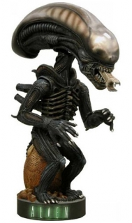 Figurka Alien Warrior - Vetřelec - Alien Head Knocker Bobble-Head - Neca