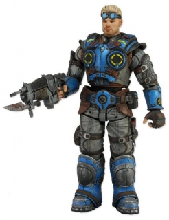 Figurka Baird - Gears of War Judgment Action Figure - Neca