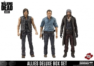 Figurky The Walking Dead TV Version Action Figure 3-pack Allies