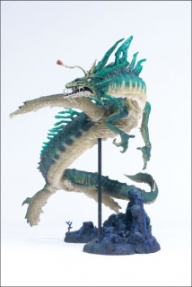 Figurka WATER DRAGON - MCFARLANE'S DRAGONS SERIES 2: QUEST FOR THE LOST KING
