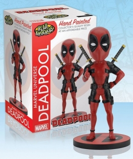 Figurka Deadpool Classic - Marvel Comics Head Knocker Bobble-Head