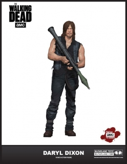 Figurka Daryl Dixon (S6) - The Walking Dead Deluxe Action Figure - 25 cm