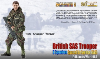 Figurka Pete 'Snapper' Winner - British SAS Trooper, B Squadron SAS