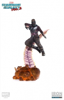 Soška Star-Lord - Guardians of the Galaxy Vol. 2 Battle Diorama Statue 1/10