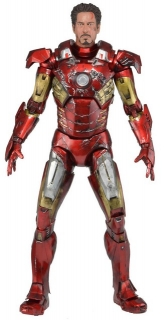 Figurka Battle Damaged Iron Man Mark VII - The Avengers - 46 cm - Neca