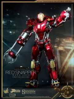 Figurka Iron Man Mark XXXV Red Snapper-Iron Man 3 Power Pose Series Figure 1/6