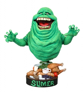 Figurka Slimer - Ghostbusters Head Knocker Bobble-Head
