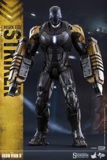 Figurka Iron Man Mark XXV Striker - Iron Man 3 Movie Masterpiece Figure 1/6