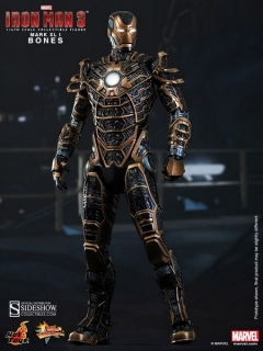 Figurka Iron Man Mark XLI Bones - Iron Man 3 Movie Action Figure 1/6 - Hot Toys