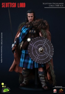 Figurka Scottish Lord (Christopher Lambert) 1/6 Action Figure inspired by Highlander