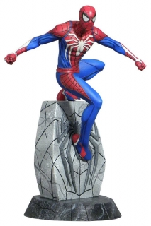 Soška Spider-Man - Spider-Man 2018 Marvel Video Game Gallery PVC Statue