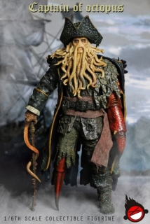 Figurka Captain Octopus 1/6 Action Figure inspired by Pirates Of The Caribbean