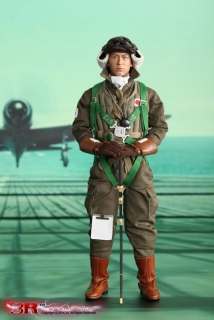 Figurka Miyazawa Kazuo - Imperial Japanese Navy Zero Fighter Pilot 1/6 Action Figure