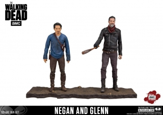 Figurky Negan & Glenn - The Walking Dead TV Version Action Figure 2-pack