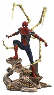 Soška Iron Spider-Man - Avengers Infinity War Marvel Movie Gallery PVC Statue