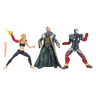 Figurky Pepper, Mark XXII & Mandarin - Iron Man 3 Marvel Legends Series Action Figure 3-Pack