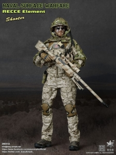 Figurka Shooter - Naval Surface Warfare 1/6 Military Action Figure