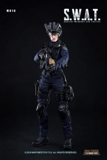 Figurka Female Police Officer - S.W.A.T. Special Weapons And Tactics Action Figure 1/6