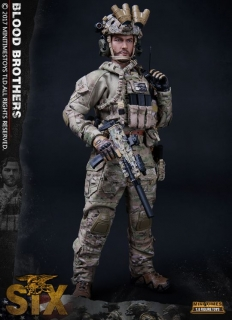 Figurka Chief Special Warfare Operator - The Seal Team Six Blood Brothers Figure 1/6