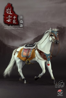 Figurka White Horse With Accessories 1/6 Figure