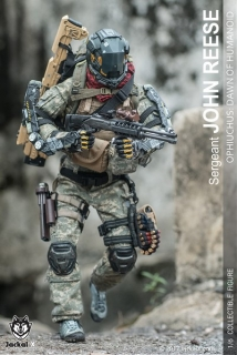 Figurka Sergeant John Reese - Ophiuchus : The Dawn Of Humanoid 1/6 Action Figure