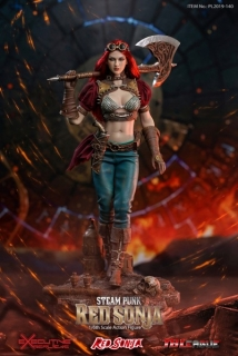 Figurka Steampunk Red Sonja Classic Version - Red Sonja Action Figure 1/6