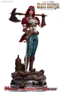 Figurka Steampunk Red Sonja Deluxe Version - Red Sonja Action Figure 1/6
