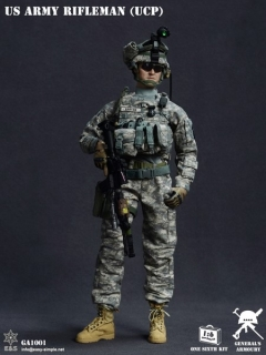Figurka US Army Rifleman (UCP) 1/6 Action Figure