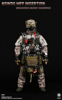 Figurka High Altitude Military Parachuting - MFF Insertion 1/6 Action Figure