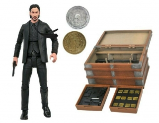 Figurka John Wick Deluxe Action Figure Box Set