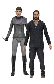 Figurky Wallace (Jared Leto) and Luv (Sylvia Hoeks) - Blade Runner 2049 Action Figures Series 2