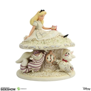 Soška White Woodland Alice in Wonderland (Alice in Wonderland) - Disney Statue