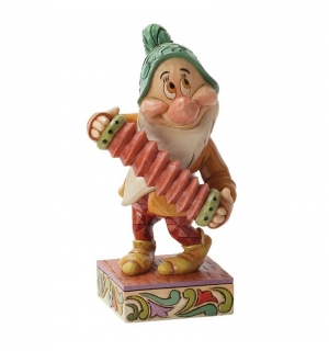 Soška Dwarf Bashful - Snow White and the Seven Dwarfs Disney Statue