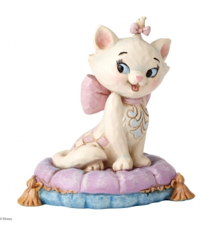 Soška Marie on Pillow - Disney Traditions Statue (The Aristocats)