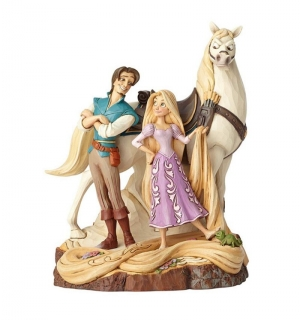 Soška Tangled - Live Your Dream Disney Statue