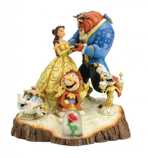 Soška Beauty and The Beast - Disney Statue