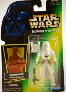 Figurka Snowtrooper with Imperial Issue Blaster Rifle - Star Wars - Kenner