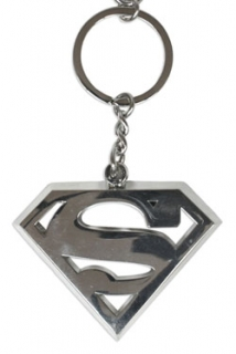 Přívěsek Superman - Metal Key Ring Logo