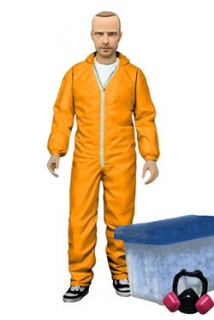 Figurka Jesse Pinkman in Orange Hazmat Suit - Breaking Bad Deluxe Figure