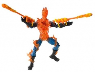 Figurka Human Torch (Fire Blast) - Fantastic Four Movie - Series 5