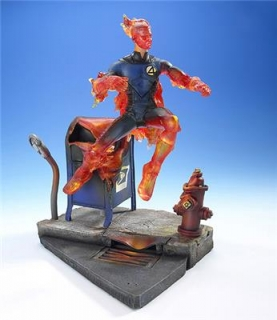 Figurka Human Torch (Light-Up) - Fantastic Four Movie - Series 4