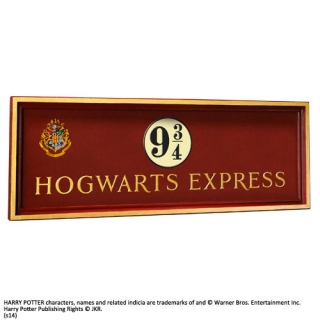 Harry Potter Wall Plaque Hogwarts Express