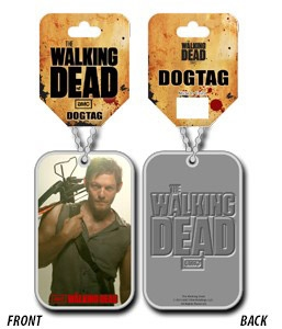 Přívěsek Daryl - The Walking Dead Dog Tag with ball chain
