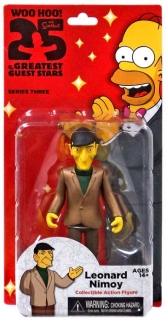 Figurka Leonard Nimoy - The Simpsons - Greatest Guest Stars - Series 3 - Neca