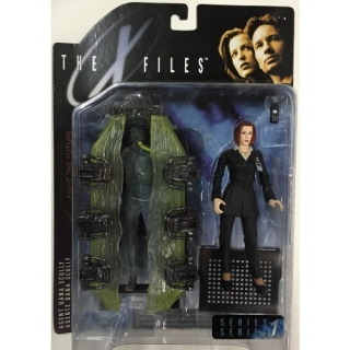 Figurka AGENT SCULLY WITH CONTAINER - THE X-FILES (Akta X) - McFarlane