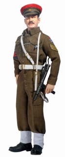 Figurka Bob Richardson 1/6 - British Military Police 2nd Army, Northern Germany