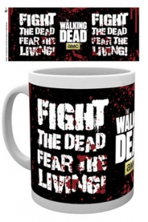 Hrnek Walking Dead Mug Fight The Dead